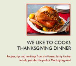 Thanksgiving Recipes eBook